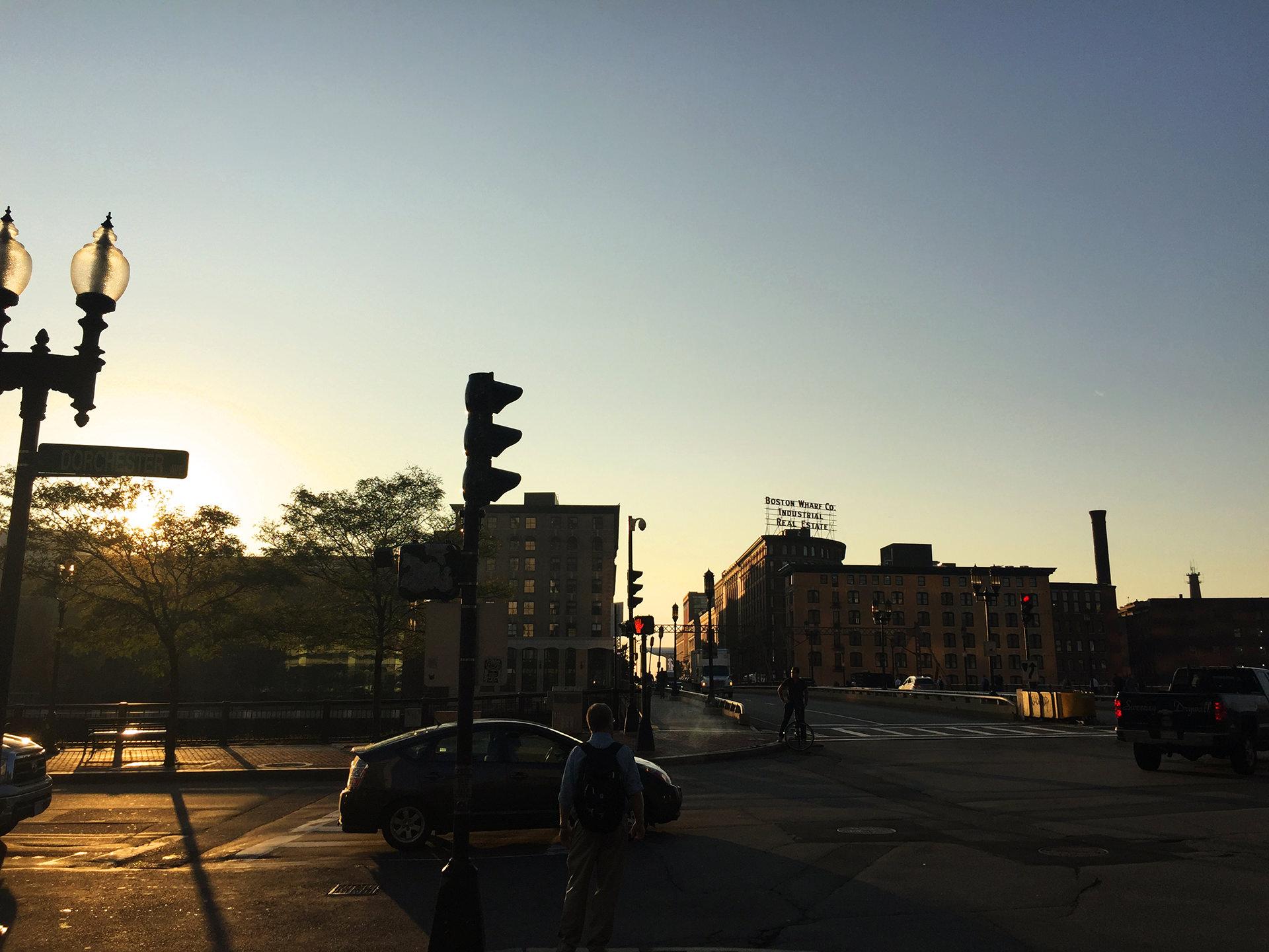 ボストンの朝